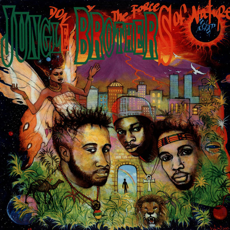Jungle Brothers - Done By The Forces Of Nature