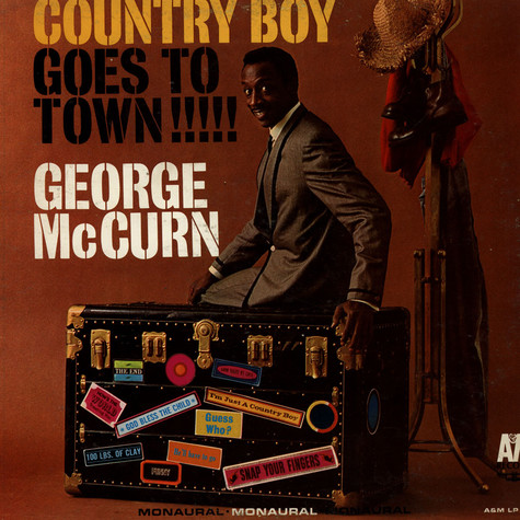 George McCurn - Country Boy Goes To Town
