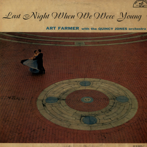 Art Farmer With The Qunincy Jones Orchestra - Last Night When We Were Young