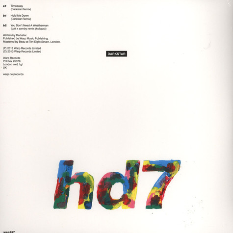 Darkstar - HD7 / Remix EP 2