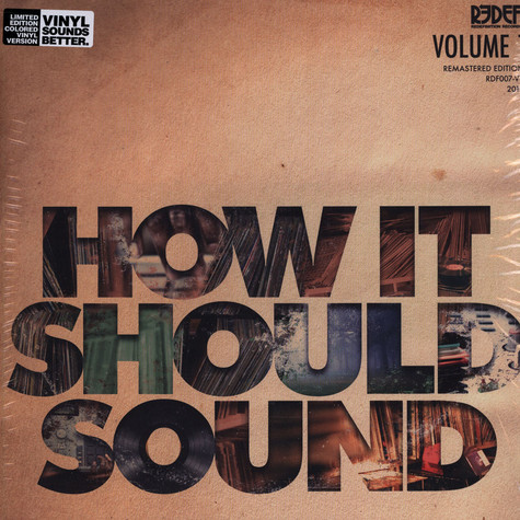 Damu The Fudgemunk - How It Should Sound Volume 1 Clear Vinyl Edition