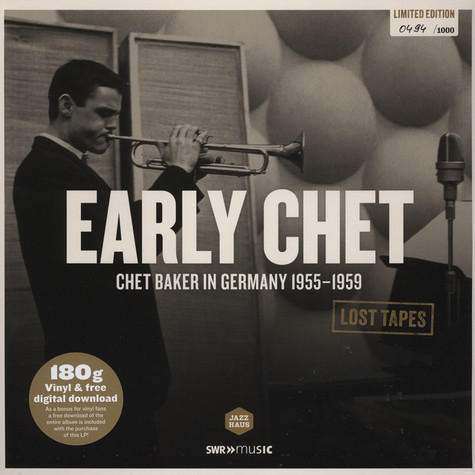 Chet Baker & Orchester Kurt Edelhagen - Early Chet: Chet Baker German Recordings 1955-1959
