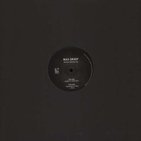 Max Graef - Broken Keyboard EP
