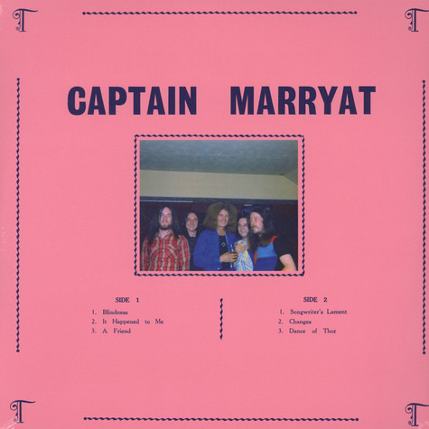 Captain Marryat - Captain Marryat Transparent White Vinyl Edition