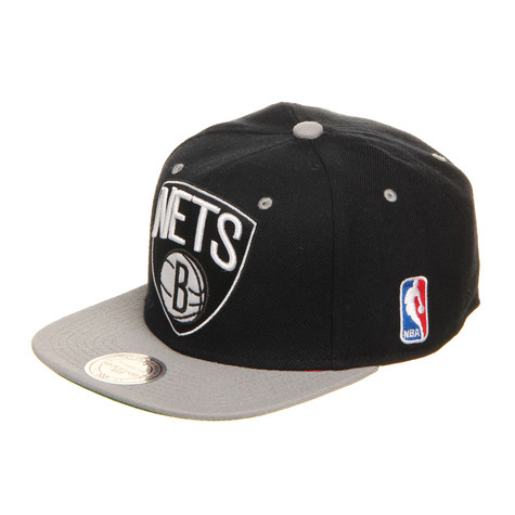 Mitchell & Ness - Brooklyn Nets NBA Arch 2 Tone Snapback Cap