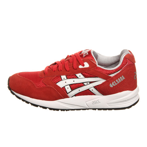 81a488440343 Asics - Gel Saga Women (Lovers   Haters) (Fiery Red   White)