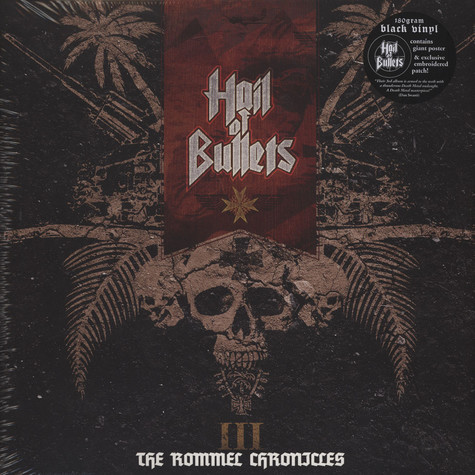 Hail Of Bullets - III The Rommel Chronicles 180g Vinyl Edition