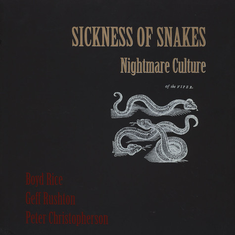 Sickness Of Snakes - Nightmare Culture