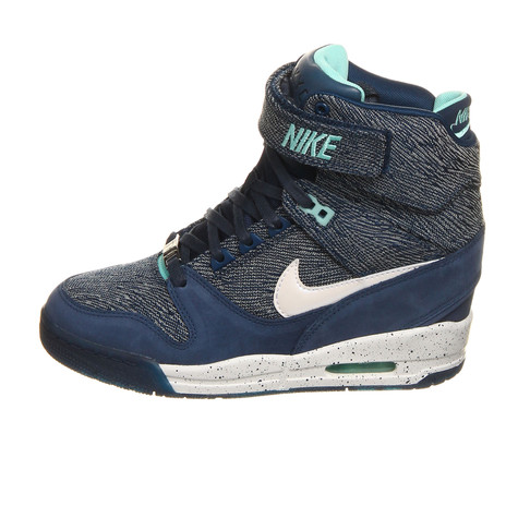 low priced 43d02 da02a Nike - WMNS Air Revolution Sky Hi FW QS (City Pack - Tokyo) (Brave Blue   White  Hypper Turquoise)  HHV