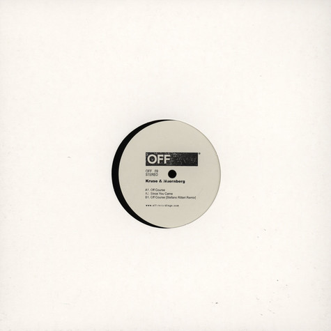 Kruse & Nuernberg - Off Course EP