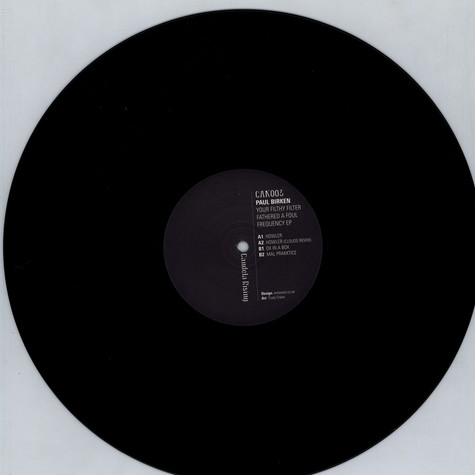 Paul Birken - Your Filthy Filter Fathered a Foul Frequency EP
