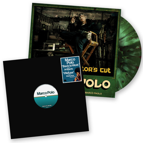 Marco Polo - Port Authority Volume 2: The Director's Cut Deluxe Colored Vinyl Edition Bundle