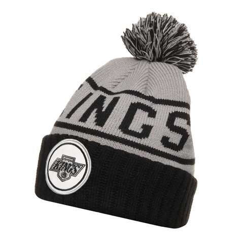 Mitchell & Ness - LA Kings NHL High 5 Cuffed Knit Beanie