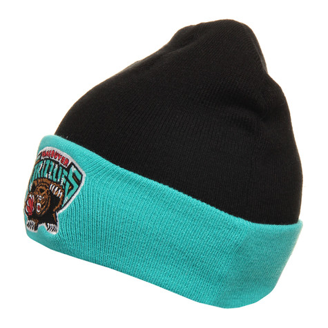 Mitchell & Ness - Vancouver Grizzlies NBA 2 Tone Cuffed Knit Beanie