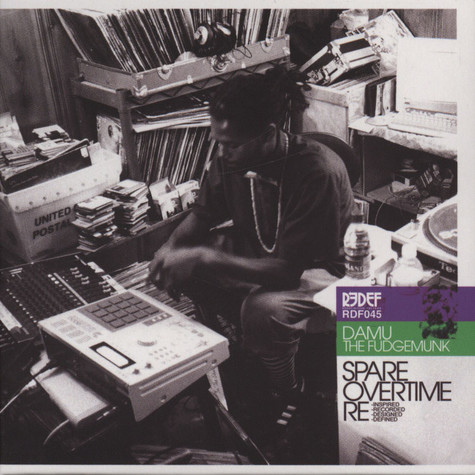 Damu The Fudgemunk - Spare Overtime