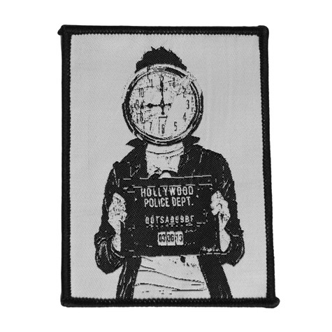 Queens Of The Stone Age - Mugshot Patch