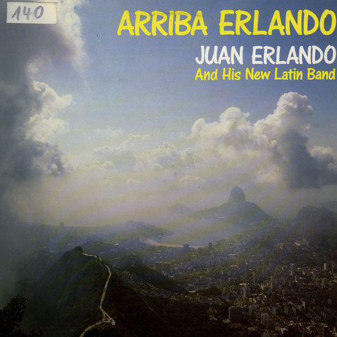 Juan Erlando And His New Latin Band - Arriba Erlando
