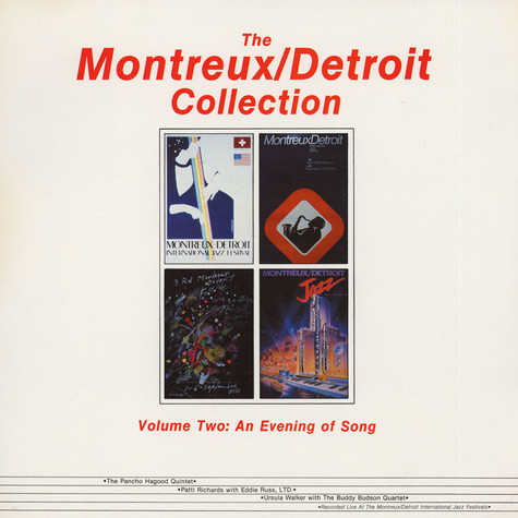 V.A. - The Montreux/Detroit Collection Volume Two: An Evening Of Song