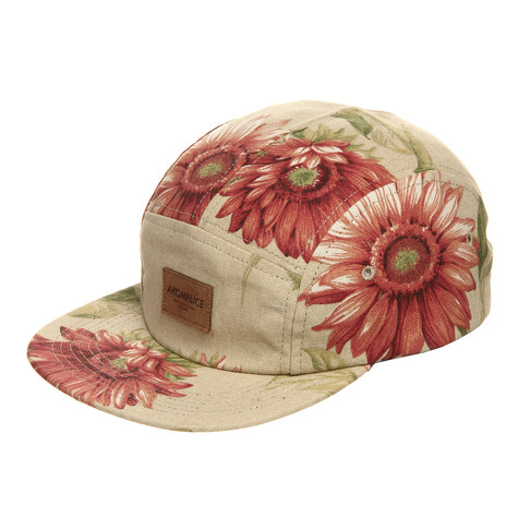 Akomplice - Inverted Floral 5 Panel Cap