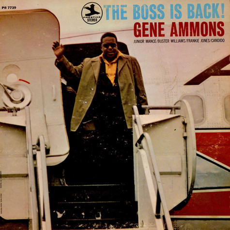 Gene Ammons - The Boss Is Back!