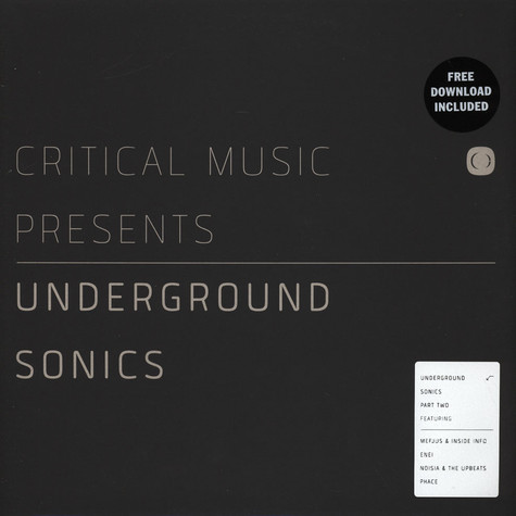 V.A. - Critical Music Presents: Underground Sonics Part 2
