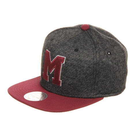 Mitchell & Ness - Montreal Maroons NHL Reverse Wool Snapback Cap