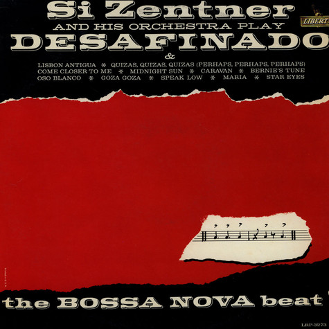 Si Zentner And His Orchestra - Si Zentner And His Orchestra Play Desafinado