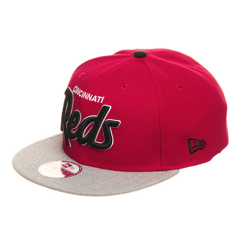 New Era - Cincinnati Reds Team Script Heather 9fifty Cap