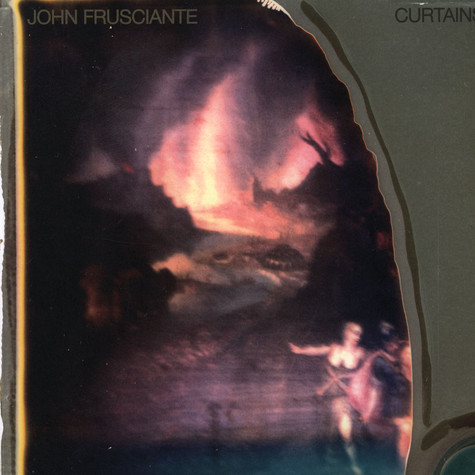 John Frusciante Curtains Vinyl Lp 2012 Us