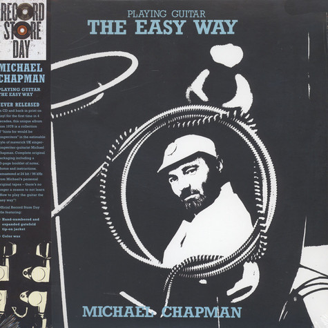 Michael Chapman - Playing Guitar The Easy Way Blue Vinyl Edition
