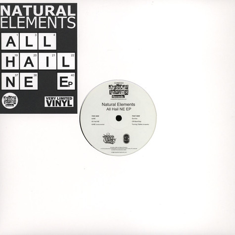 Natural Elements - All Hail NE EP