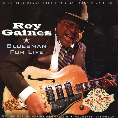 Roy Gaines - Bluesman For Life