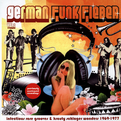 V.A. - German Funk Fieber Vol.1 (Infectious Rare Grooves & Krauty Schlager Wonders 1969-1977)