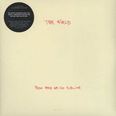 Field, The - From Here We Go Sublime