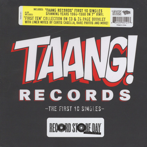 V.A. - Taang! Records: The First 10 Singles