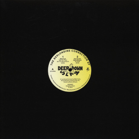Mikki Funk / Peer Du - The Berlondine Connection EP