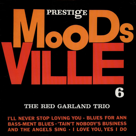 Red Garland Trio, The - Moodsville Volume 6