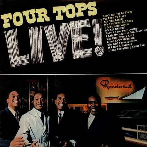Four Tops - Four Tops Live