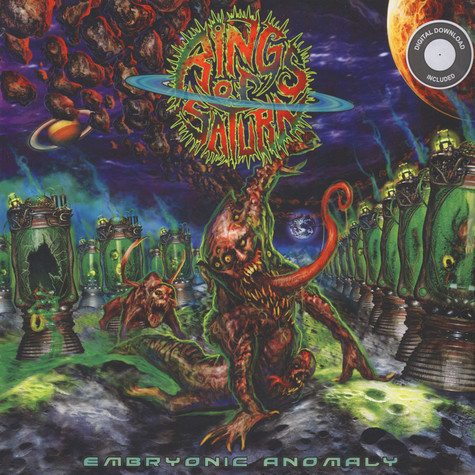 Rings Of Saturn - Embryonic Anomaly