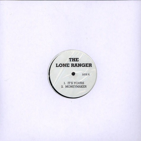 Lone Ranger / Consequence - It's Yours / The Consequences