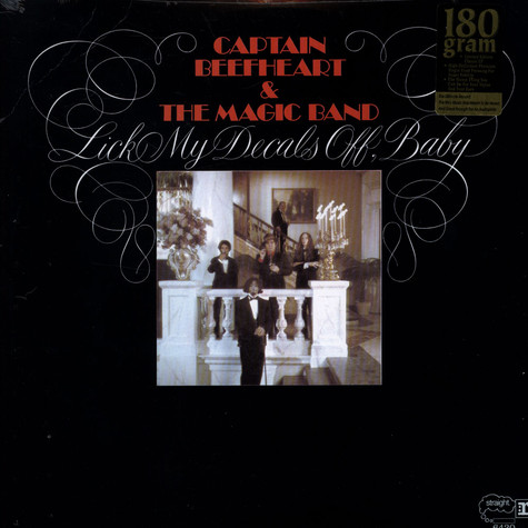 Captain Beefheart & Magic Band, The - Lick My Decals Off, Baby