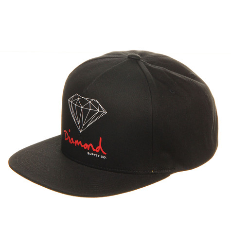 Diamond Supply Co. - OG Logo Snapback Cap
