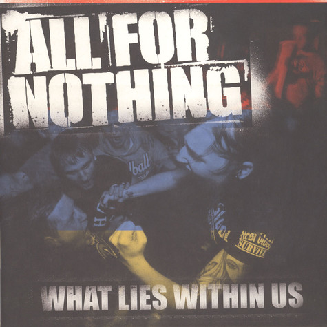 All For Nothing - What Lies Within Us Black White Splatter Vinyl Edition