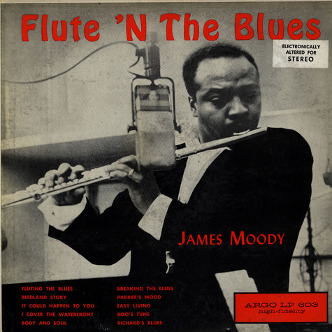 James Moody - Flute 'N The Blues