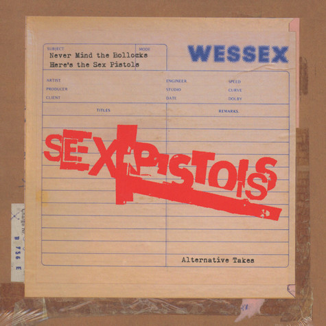 "Sex Pistols - Never Mind The Bollocks: Alternative Takes 7"" Box Set"