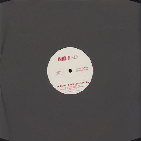 KDMS, The - Part Time Lovers Remixes