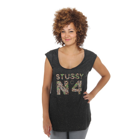 Stüssy - Cheetah Camo Women Muscle T-Shirt