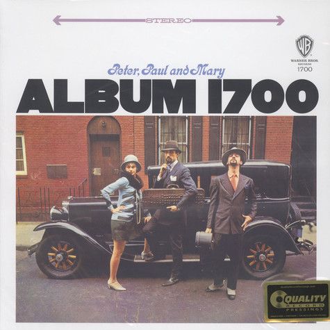 Peter, Paul & Mary - Album 1700 200g Vinyl Edition