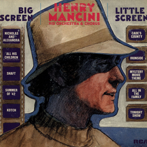 Henry Mancini And His Orchestra And Chorus - Big Screen - Little Screen