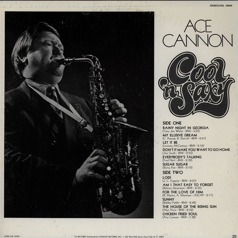 Ace Cannon - Cool 'n Saxy